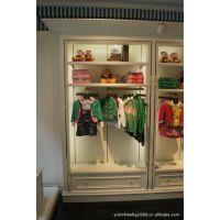 厦门童装母婴展示柜定做烤漆柜有多种材质可选,木质烤漆展示柜定做现场组装