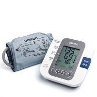 欧姆龙电子血压计HEM-7207 全自动上臂式测量仪语音型配送电源