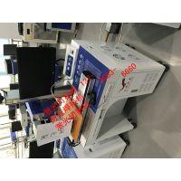 四川成都武侯区周边5G手机天线拼接图案FB-20-H半自动激光打码机打标机
