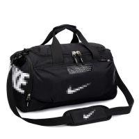 时尚运动健身包独立鞋位大容量手提旅行包男女短途防水行李包定制
