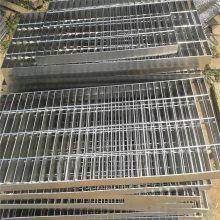 发电厂专用踏步板 花纹板踏步 平台钢格板批发