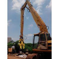 26米挖掘机拆楼臂、拆迁机_工程机械设备厂家。