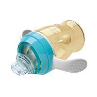 供应Babybetter/宝升 宝宝海豚造型学饮杯宽口径280ml护齿儿童抗菌水杯鸭嘴杯
