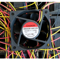 全新原装建准 24V 1.87W 6厘米 EB60252B1-000C-C9变频器风扇现货