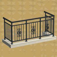 西安热镀锌栏杆空调栏板铝合金板护栏厂家直销欧景护栏18696946333