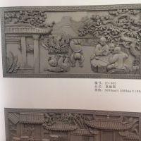 枣庄做仿古砖雕 背景墙影壁 景区寺庙装修装饰新建材 仿古地砖