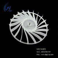 东莞塑胶手板厂家供应CNC数控加工PC料CPU小扇叶手板模型