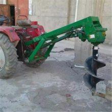 拖拉机植树挖坑机定做厂家 优质耐用栽树挖坑机