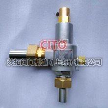 上海LNG低温介质专用DAH-25全启式低温安全阀