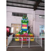 中山汉唐厂家直销产品成年儿童5座欢乐青蛙跳游乐设备 玻璃钢