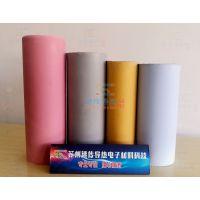 导热矽胶布导热系数1.5绝缘耐磨抗拉力强