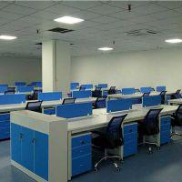 厂家直销4人位办公桌 深圳华明家具定制办公卡座 职员卡位 办公室桌椅