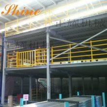 唐山二层钢平台 阁楼式钢结构平台