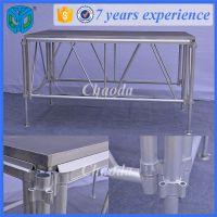 搭建铝合金舞台厂家出售/升降拼装组合/广州快装铝合金舞台生产