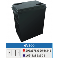 6V300AH专用铅酸蓄电池壳深圳市高能可五金塑胶