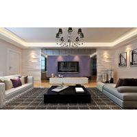 省公安厅宿舍142平现代风格装修效果图半包4.5万