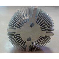 太阳花散热器铝型材/东莞数控铣/零件加工/五金配件加工/非标准件/订做定做/铝散热片