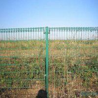 双圈护栏网 牢固铁丝双圈围栏网 浸塑白色卷圈防护网 出厂价销售