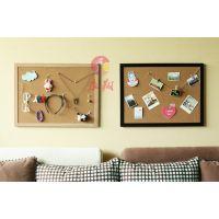 佛山定制彩色软木板Q毛毡板照片墙W作品展示板公告栏
