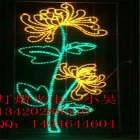 LED灯杆造型灯 路灯花型图案灯 公园滴胶动物造型灯 梦幻灯光节装饰灯