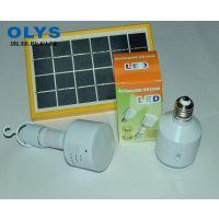 奥林斯厂家批发太阳能照明灯,LED直流交流太阳能应急照明灯