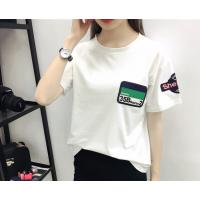 贵阳的服装批发纯棉女士圆领T恤清仓3元T恤批发工厂直销