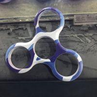 深圳移动电源外壳数码打印加工 ABS材质指尖陀螺UV数码喷绘