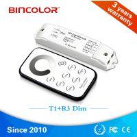 缤彩 T1+R3 MINI单色/迷你型led单色调光器 恒压灯条RF控制器