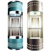 供应 360°全圆观光电梯 曳引 螺杆液压全圆观光电梯 无需顶层机房四川省