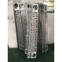 古代文明工业风格仿木纹色铝窗花-铝板国际标准生产厂家