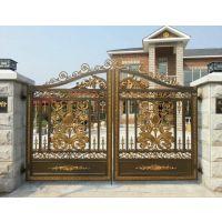 东丽区铝艺庭院大门安装 别墅庭院门