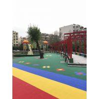 悬浮地板生产厂家篮球场幼儿园悬浮地板铺装