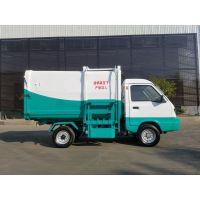 4方箱体爬坡 地下车库都可以用的电动四轮垃圾车 3千瓦电机挂桶式垃圾车