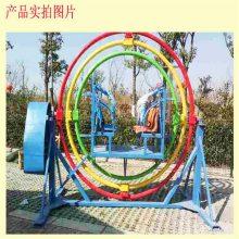 小型广场游乐项目三维太空环买到就能赚钱的小型游乐设备