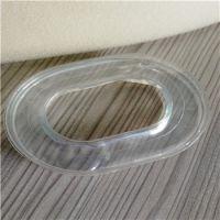 辉晟厂家直销105mm透明硅胶皮耳套 环保降噪 全硅油填充TPU吸塑成型