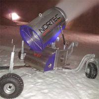 如何正确使用诺泰克全自动造雪机