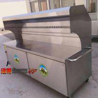 黄石环保油烟净化烧烤车