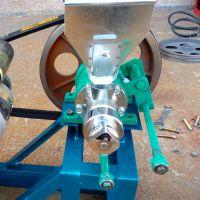 小型自动切断食品膨化机 自熟型玉米膨化机 食品加工设备