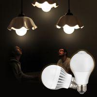 帆海LED感应球泡 智能人体感应球泡 过道灯泡圆形灯具 7W白光