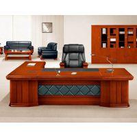 朗哥家具 实木大班台 老板桌 办公桌 办公家具厂家直销14