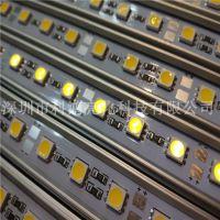 凯迪拉led5050硬灯条72灯 铝槽防水 12v低压 厂家直销
