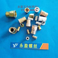 中山市铆螺母厂家,M8拉铆螺母,M8平头拉铆螺母,M8拉帽,铆接螺母柱