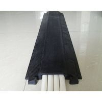 黑色线槽板单槽-办公室走线板-橡胶穿线板