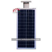 小型太阳能发电10w一体化太阳能庭院LED智能感应院墙灯户外照明灯
