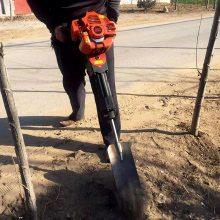 链条式断根起苗机 带土球园林起树机 铲式汽油挖树机