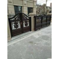 大连别墅大门 铝艺护栏 大连锌钢护栏 围栏等镀锌钢和铝合金金属制品