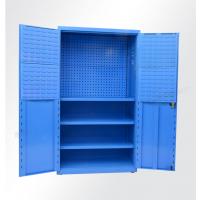 渝威杰重型加厚五金工具柜双开门储物柜钢制多功能维修车间铁皮零件柜