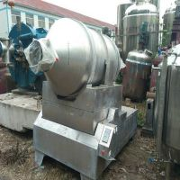 出售二手二维运动混合机 化工化学品滚筒式混合机