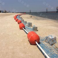 漳河水库区域划分警示围栏浮桶垃圾拦截浮子