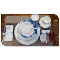 火锅店餐具定制 前台后台酒店餐具生产厂家 景德镇千火陶瓷